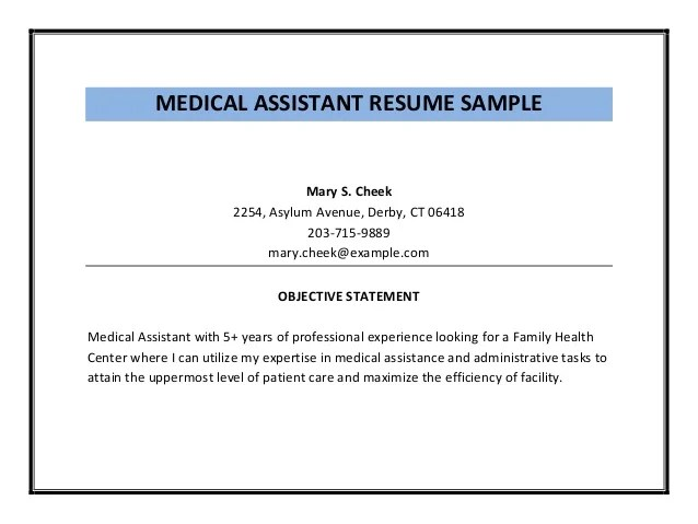 medical assistant graduate resume examples nurse medical assistant resume samples