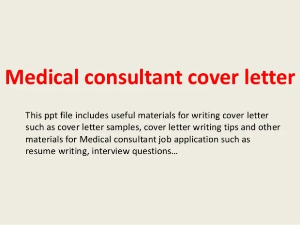 Sample Cover Letter For Resume Consulting | Howtoviews.co