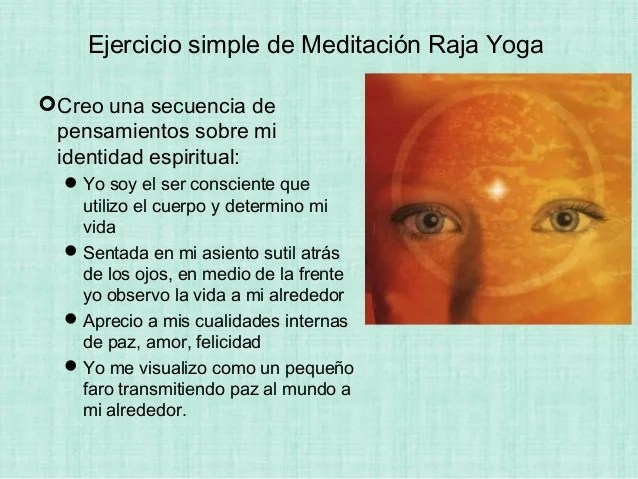 Meditacion raja yoga