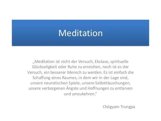 Zitate Und Aphorismen Zum Thema Meditation