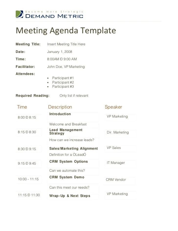 Meeting Outline Template appeal letter example 37229210 5 appeal – Meeting Program Sample