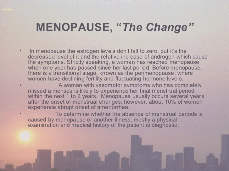 Image result for menopause the change