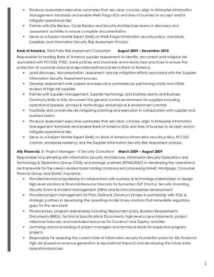 best it risk management resume ideas simple resume office