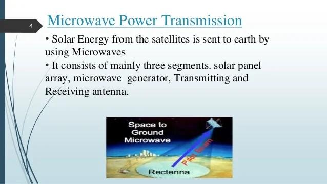 Microwave power transmission via solar power satellite