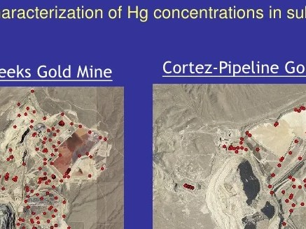 HD Decor Images » Fugitive Mercury Emissions from Nevada  USA Gold Mines     Tailings material  27