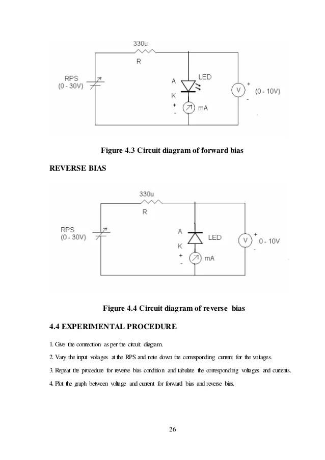 Minor project report on pn junction, zener diode, led