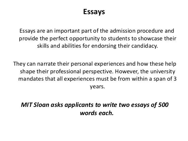 Ut austin essay