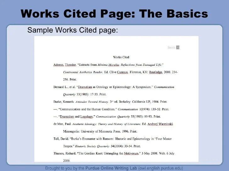 Annotated Bibliography Template - SFCC Library Home
