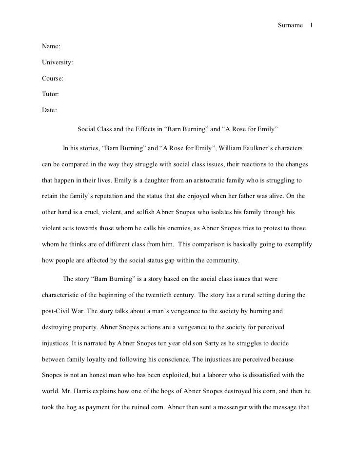 barn burning essay co barn burning essay
