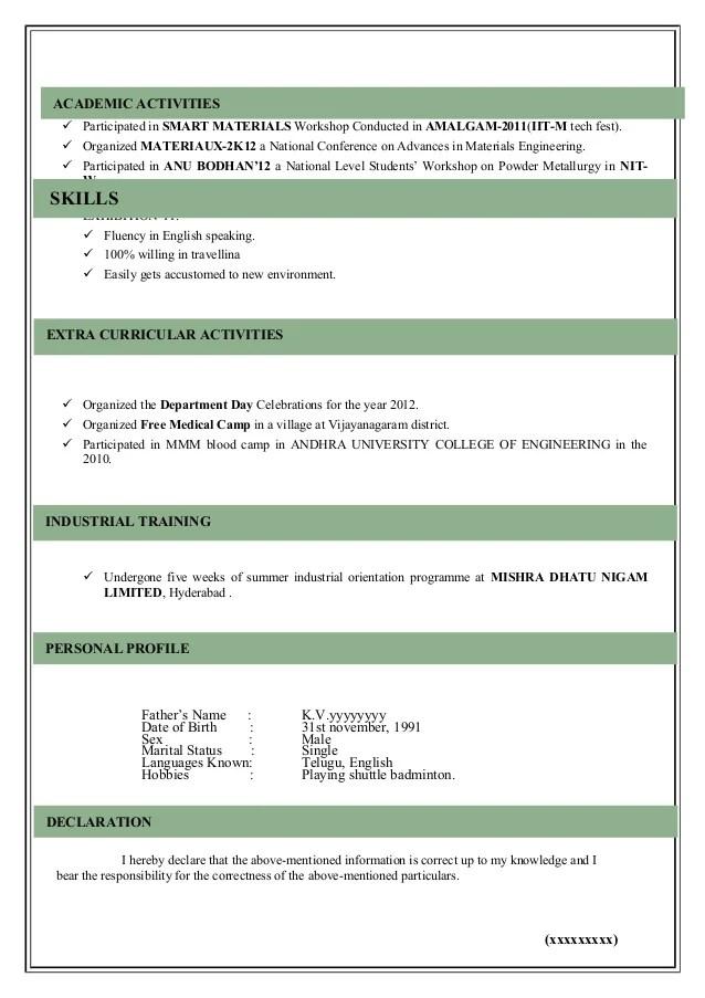 Resume Format Male Models. Modal Resume. Architect Sample Template