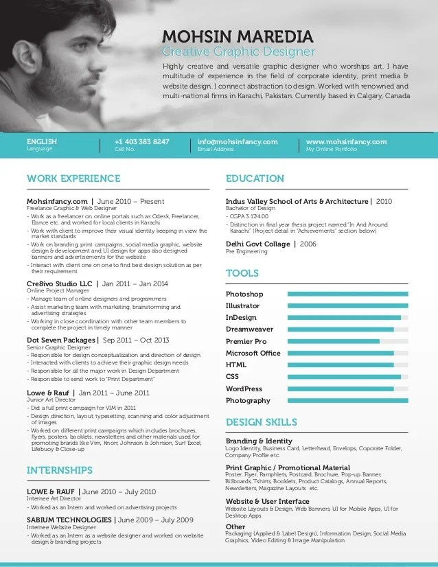 Graphic Designer Resume Pdf Cipanewsletter