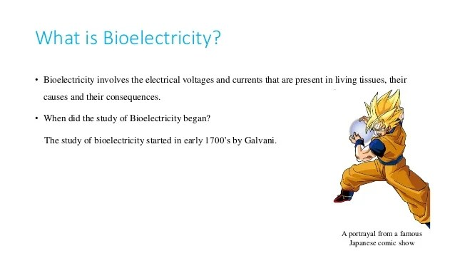 The Study Of Bio-electricity In Plants And Their