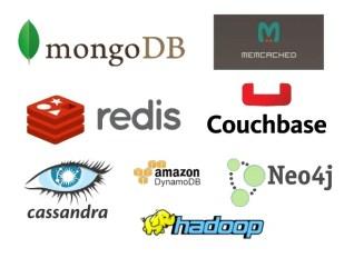 نتيجة بحث الصور عن MongoDB Elasticsearch Neo4j Amazon DynamoDB