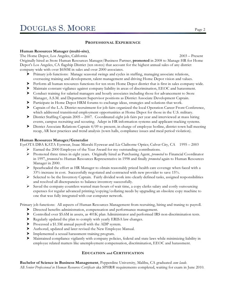 Hr Manager Resumes. Hr Managers Need To Select A Professional