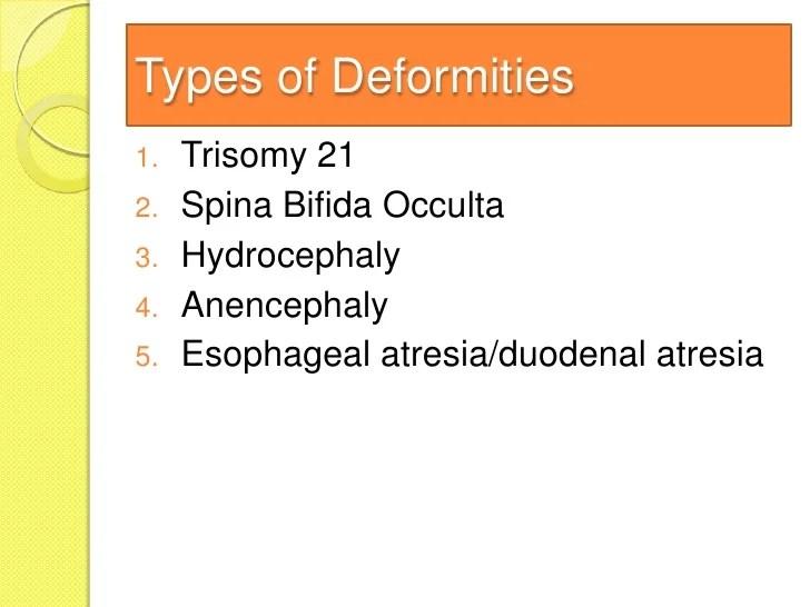 Types Esophageal Atresia