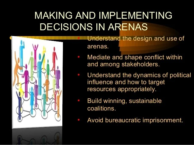 Arenas Political Conflict