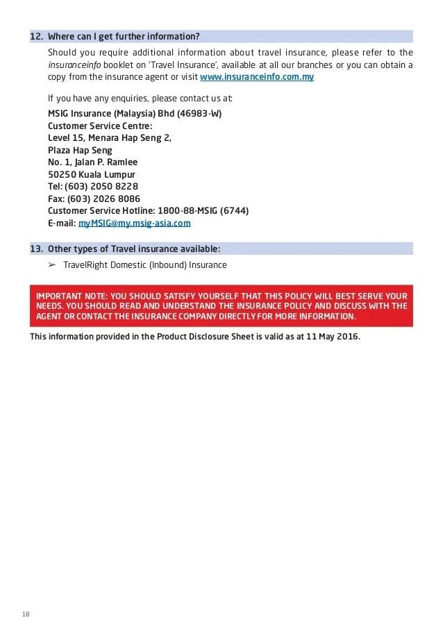 Msig Travellershield Claim Lifehacked1st Com