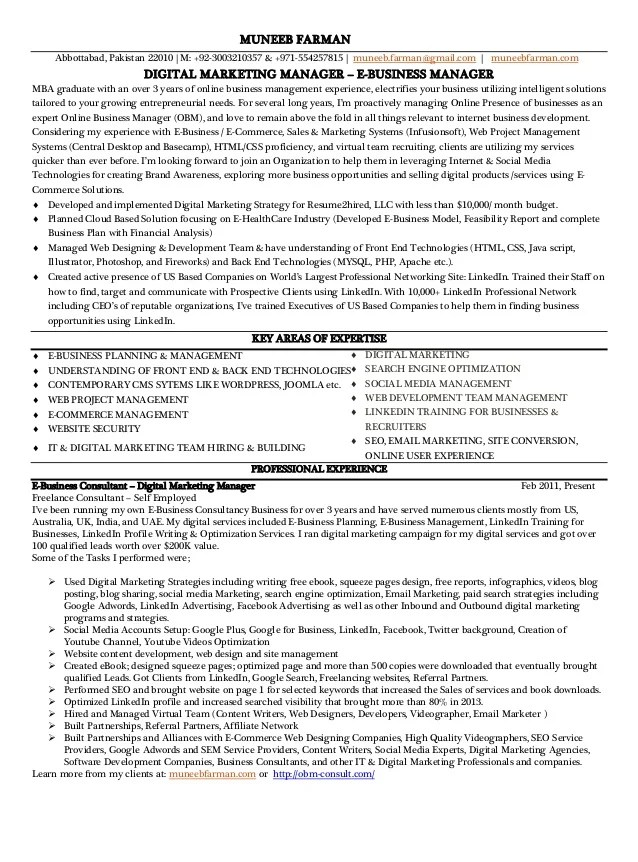 Marketing Director Resumes. Account Executive Resume Example Page