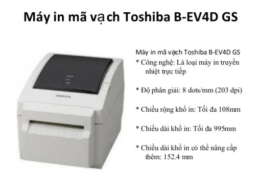 máy in tem Toshiba Tec B-SV4D