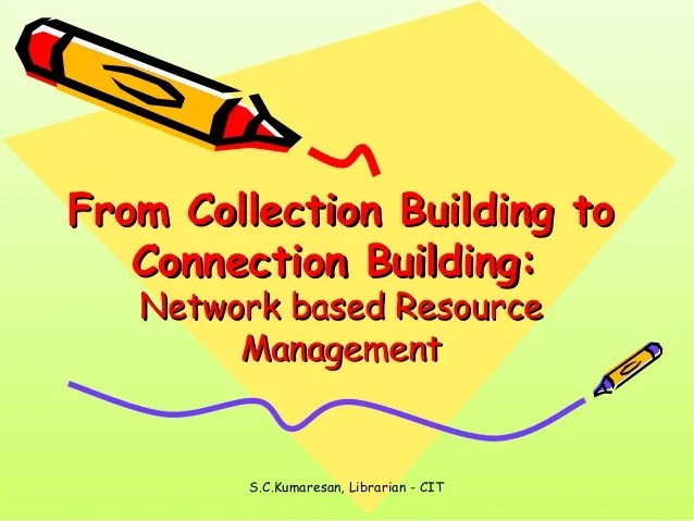 Networkbased Resource Management