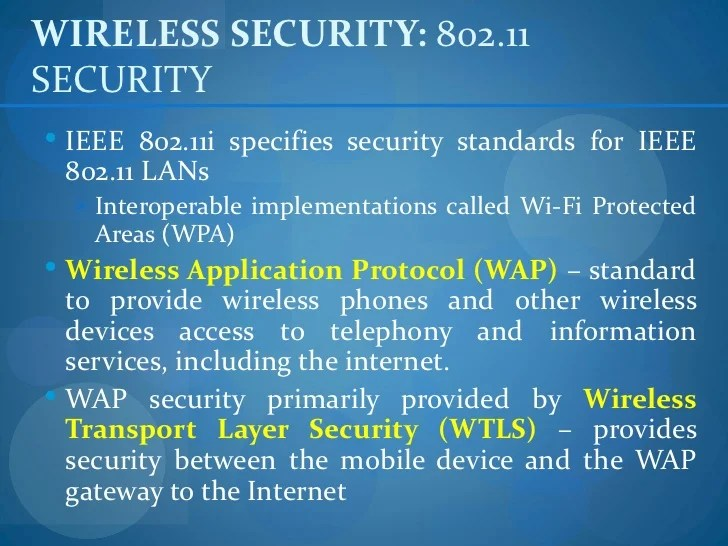 Wireless Rules Security