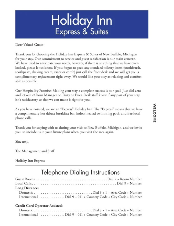 Welcome letter template for hotel guest textpoems how to write a welcome letter guest gallery format expocarfo Images