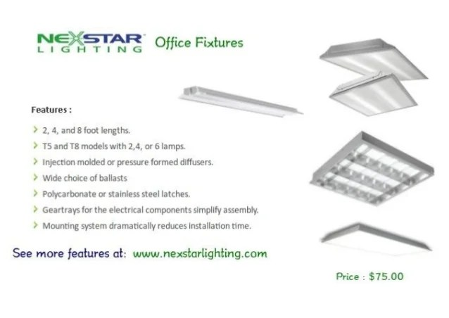 commercial lighting fixtures products