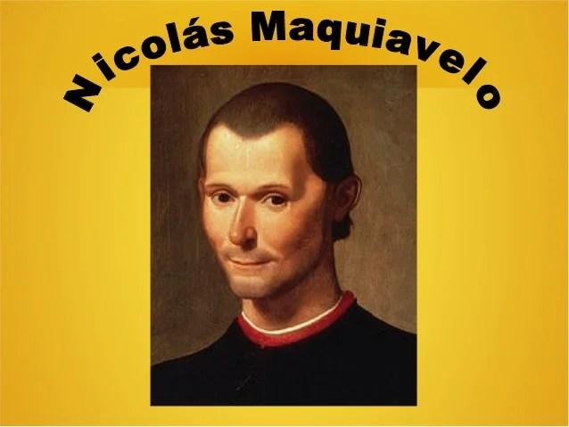 Resultado de imagen para Fotos de Nicolás Maquiavelo
