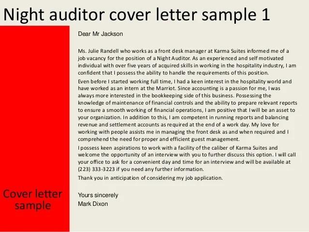 night auditor resume sample night auditor cover letter
