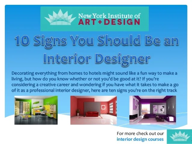 What Education Do You Need To Become An Interior Designer