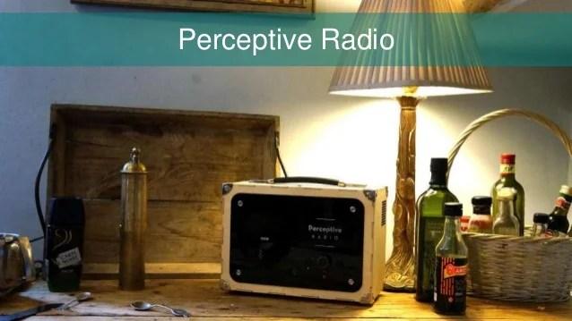 Internet of thing - Perceptive Radio