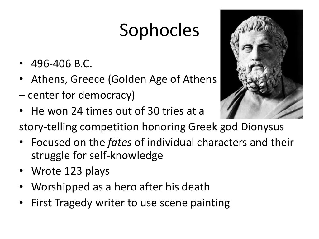 Oedipus The King Ppt