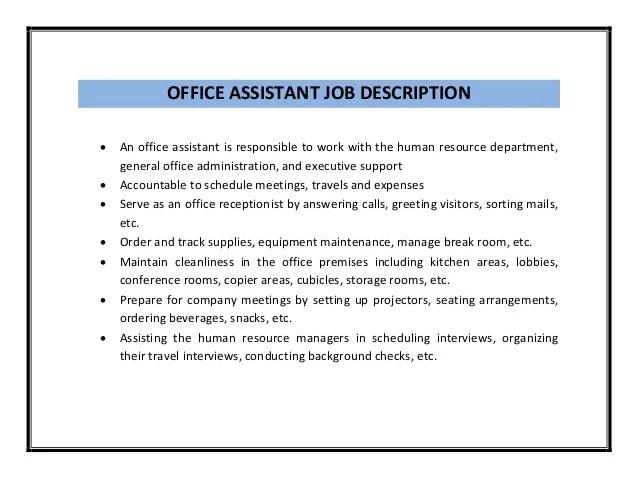 maintenance job duties resume resume resume of description retail