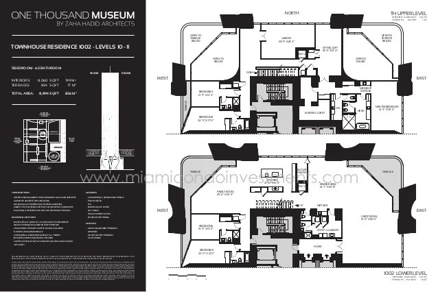 One Thousands Museum Floor Plans