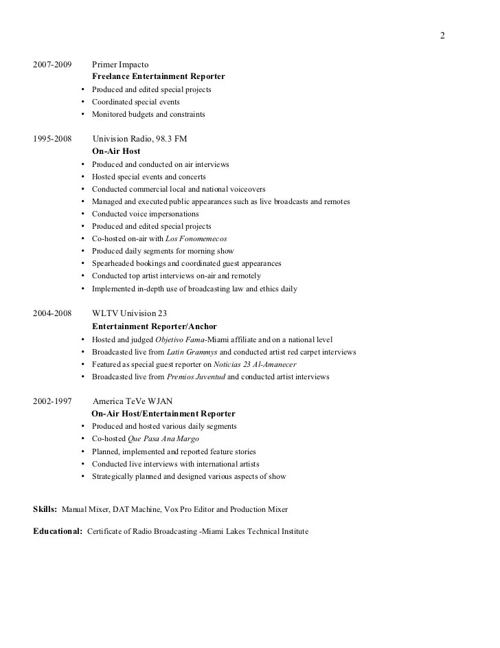 Engineer Resume Example Executive 2 Expanded Host Yazh Co