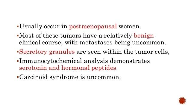 Carcinoid Ovarian Dermoid