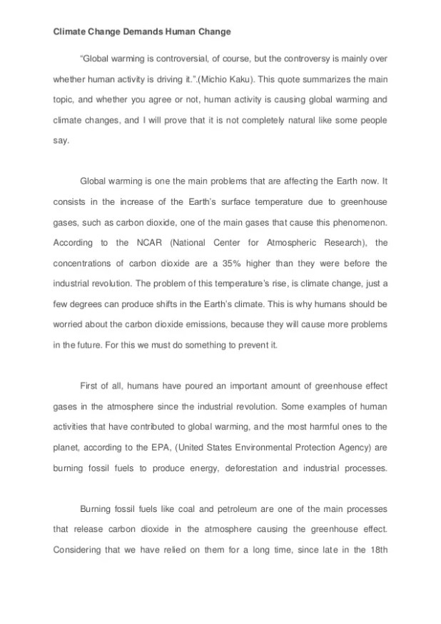 Science Fiction Essay Topics Is Global Climate Change Man Made Argumentative Essay Psychological Climate  Change Opinion Essay Creativecard Co Business Plan Writer Cost also What Is Thesis In Essay Argumentative Essay On Global Climate Change  Mistyhamel Essays On High School