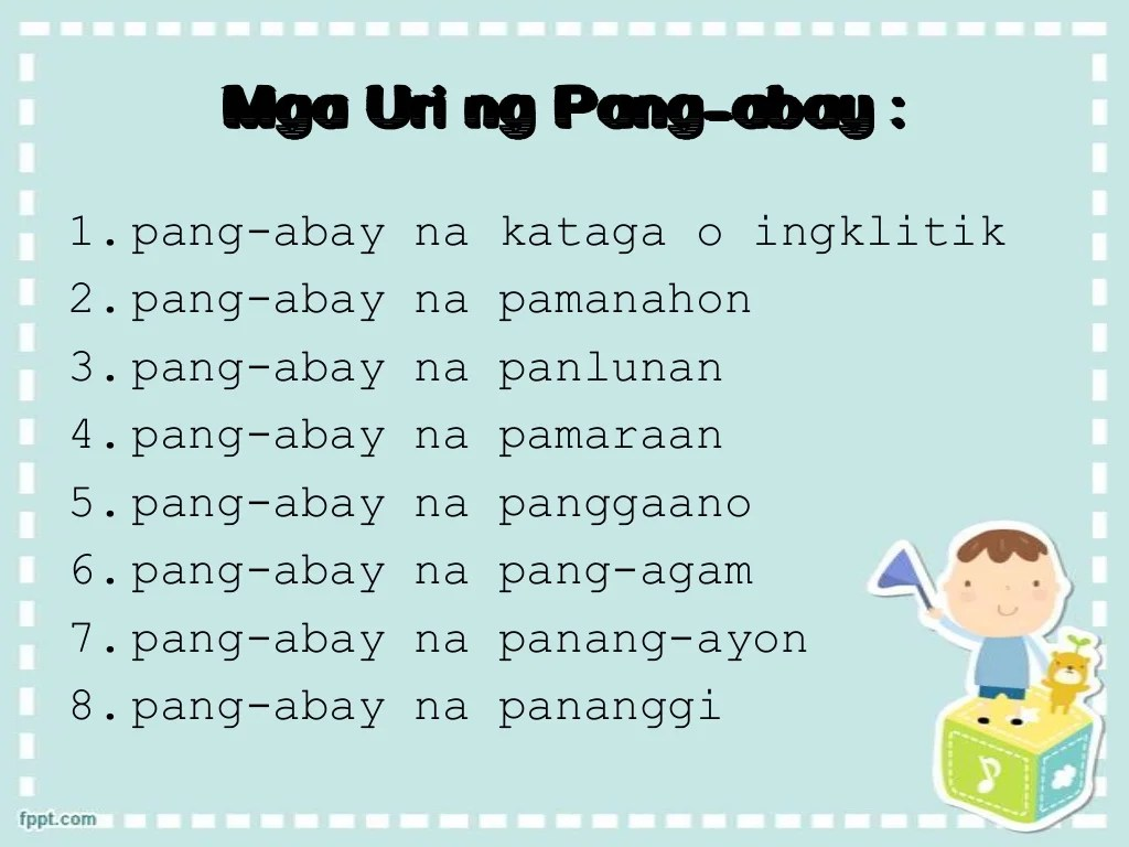 Pang Abay