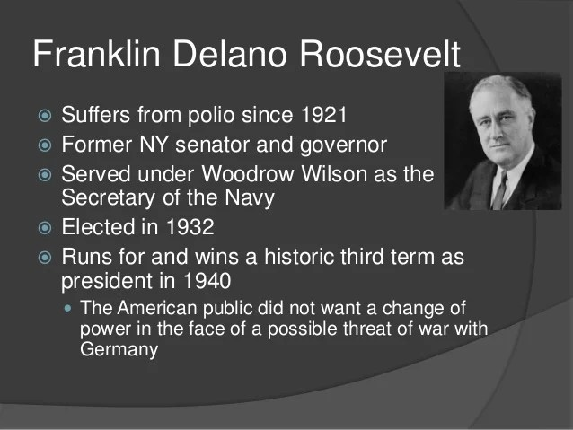 What Was Roosevelt President Number
