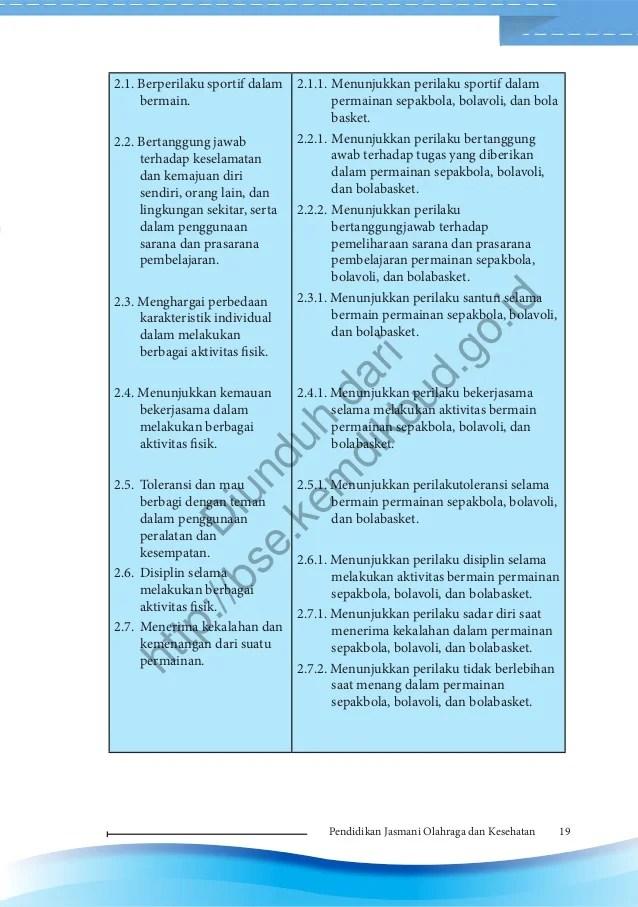 Pendidikan jasmani, olahraga, dan kesehatan (buku guru)
