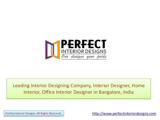 Names Of Interior Design Firms In India