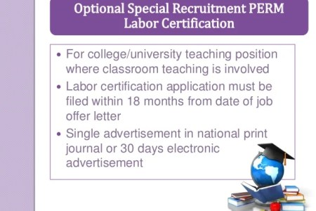 Free Resume Format » perm labor certification status | Resume Format