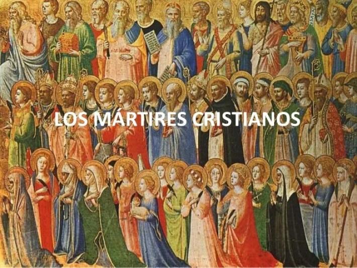 Resultado de imagen para todos los martires de la iglesia catolica