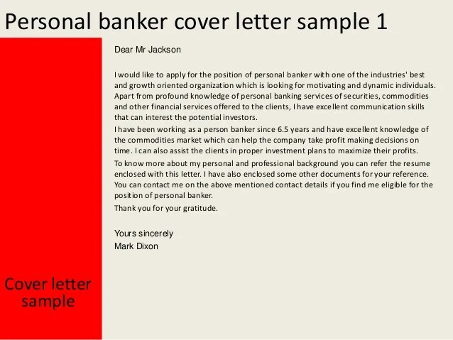 examples of a cover letter for a bank teller