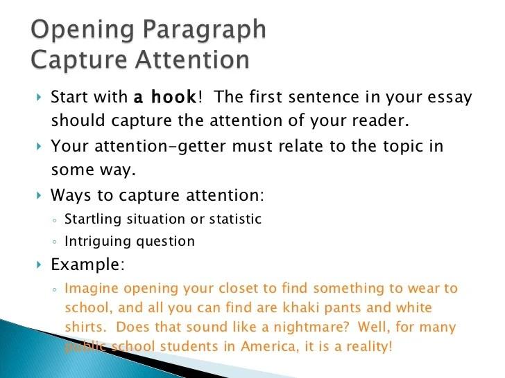 Reflective essay sentence starters