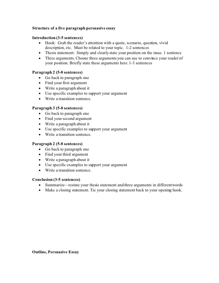 Paragraph Essay Outline   PDF File by Best Teacher Resources   TpT sample resignation letter letter of recommendation format     This article will define those elements and provide you with a good  strategy for crafting a great   paragraph essay outline that keep your  thoughts