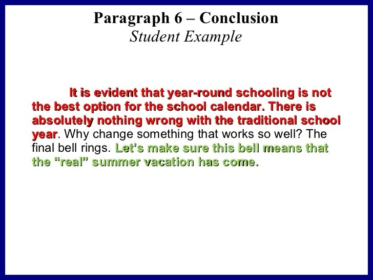Good Conclusions For Persuasive Essays Samples - Essay for you