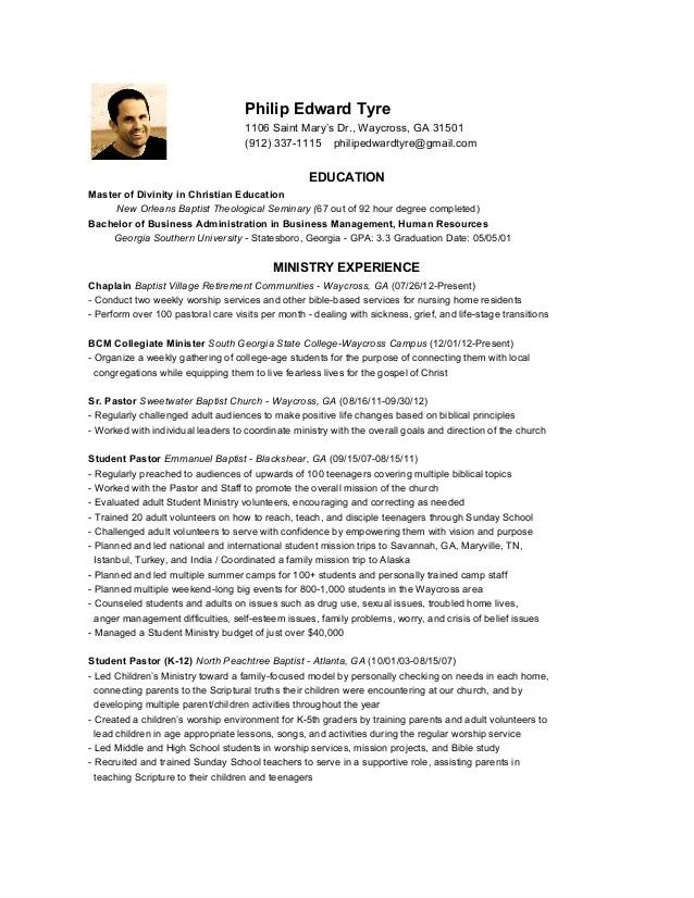 Sample Ministry Resume Youth Pastor Resume Samples Pastor Resume
