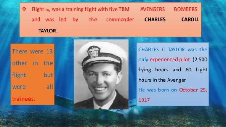 Resultado de imagen para Charles Taylor Flight 19