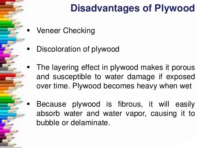 Plywood Types And Grades